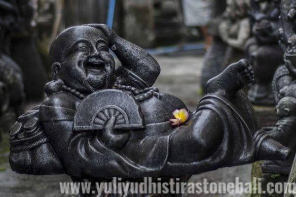 casting statue buddha laugh