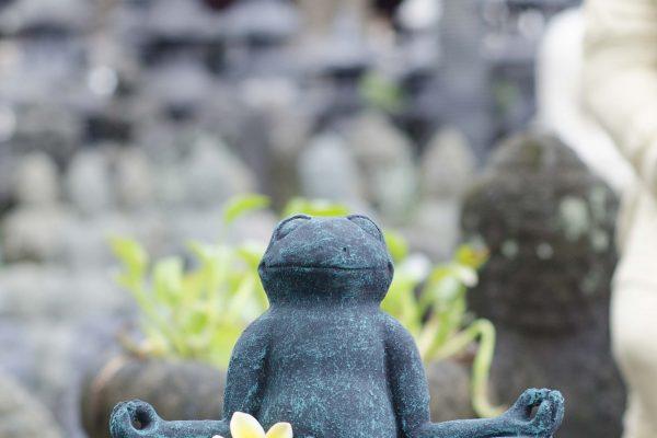 Yuli Yudhistira Stone Carving Frog