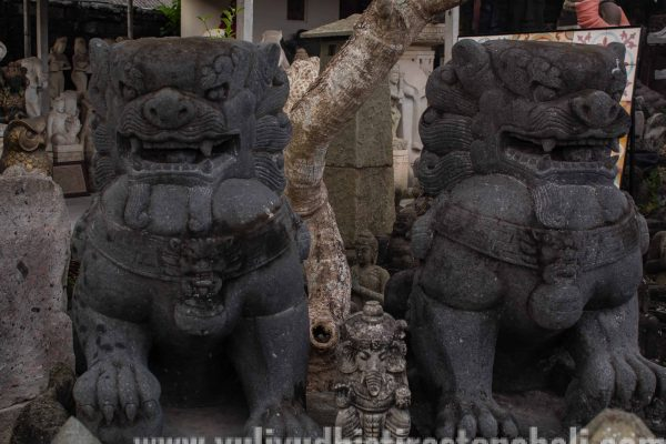 Balinese stone statue for sale