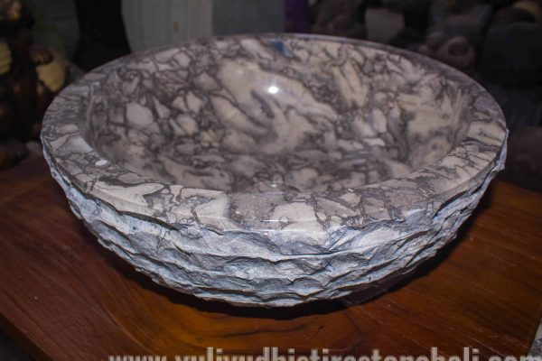 marble sink carving