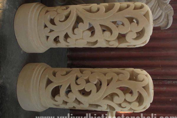 balinese lantern statue