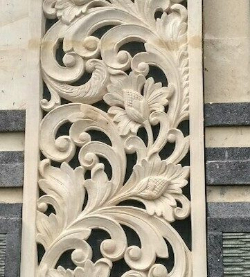 large wall panels carving