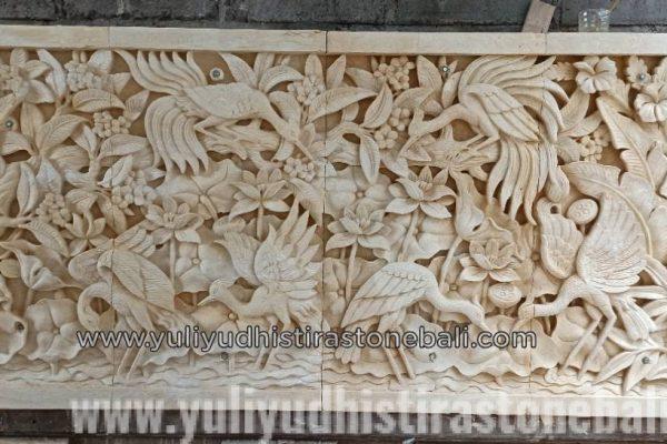 animal wall panel carving