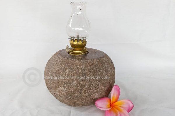 stone light holder