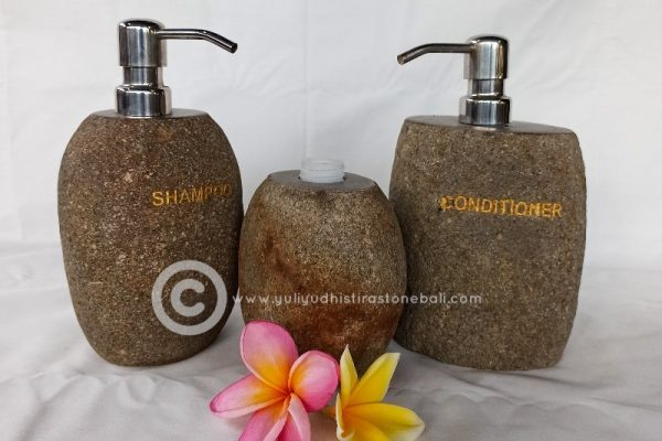 bathroom accessories from stone