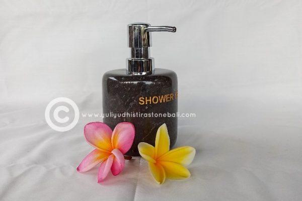 shower soap dispenser from marble